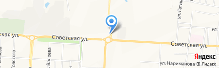 Avenue на карте Альметьевска