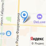 Саман на карте Альметьевска