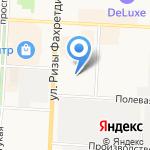 Табыш на карте Альметьевска