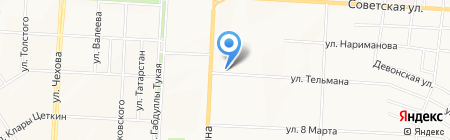 Отдел Военного комиссариата Республики Татарстан по г. Альметьевску и Альметьевскому району на карте Альметьевска