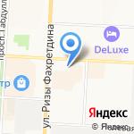 Автовокзал на карте Альметьевска