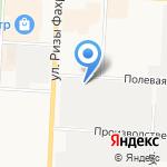 Компас на карте Альметьевска