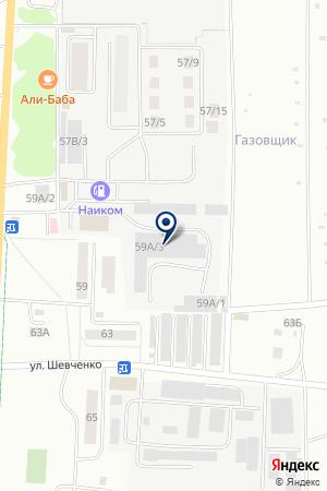 ТФ СТРОЙКОМ на карте Альметьевска