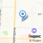 Лэйсэн на карте Альметьевска