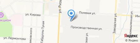 Электроспектр на карте Альметьевска