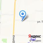 Шэрык на карте Альметьевска
