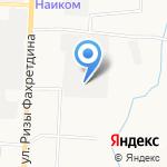 Нафтаматика на карте Альметьевска