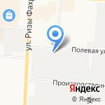 Альметьевск-Водоканал на карте Альметьевска