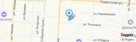 Магеллан Трэвел на карте Альметьевска
