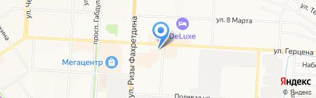За 5 минут на карте Альметьевска