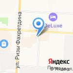 Отдел управления экономической безопасности и противодействия коррупции по Республике Татарстан на карте Альметьевска