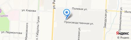 ТРИМ на карте Альметьевска