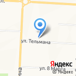 Альметьевский техникум информационных технологий и сервиса на карте Альметьевска