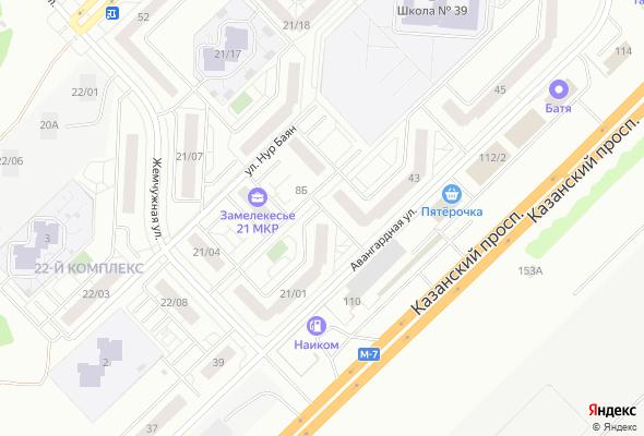 жилой комплекс Замелекесье, 21 мкр