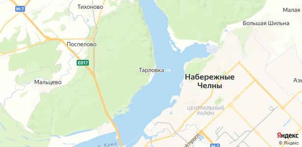 Тарловка на карте