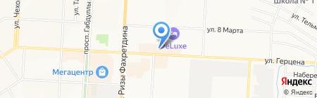 Аяз на карте Альметьевска