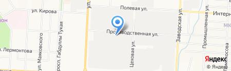Альметьевский таможенный пост на карте Альметьевска