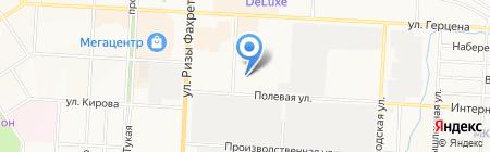 Альметьевское монтажное управление на карте Альметьевска