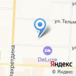 Станция юных техников на карте Альметьевска