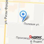 Магазин овощей и фруктов на карте Альметьевска
