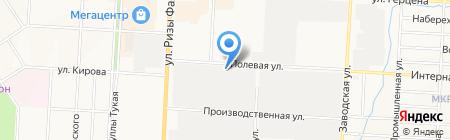 Арзан на карте Альметьевска