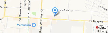 А+ на карте Альметьевска