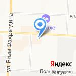Автосила на карте Альметьевска