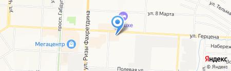 Галерея сантехники на карте Альметьевска