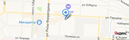 Регион мебель на карте Альметьевска