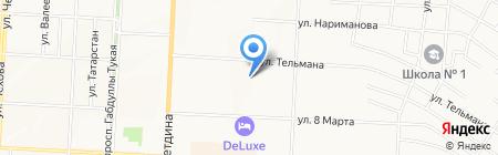 DRAVA на карте Альметьевска