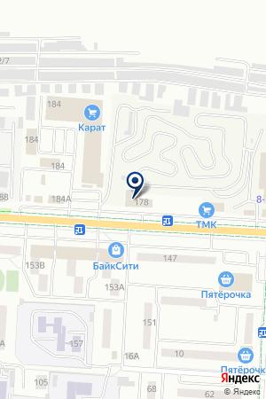 АВТОСЕРВИС АЛЬЯНС на карте Альметьевска
