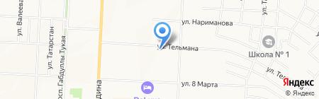 Всё для вязания и рукоделия на карте Альметьевска