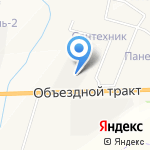 Нарат на карте Альметьевска