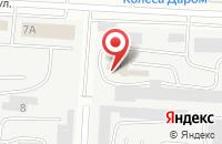 Схема проезда до компании Абрис в Альметьевске