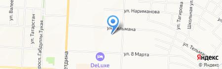 Салон реставрации подушек на карте Альметьевска
