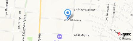 Дуслык на карте Альметьевска