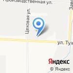 Столовая №50 на карте Альметьевска