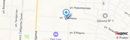 Дом студентов на карте Альметьевска