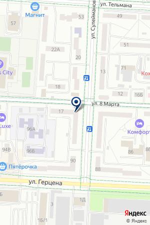 СТРОИТЕЛЬНАЯ ФИРМА ОСНОВА на карте Альметьевска