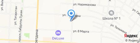 Центральная библиотека С. Сулеймановой на карте Альметьевска