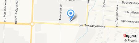 Елховтранссервис на карте Альметьевска