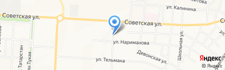 Шаурма на карте Альметьевска