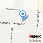 Столовая №106 на карте Альметьевска