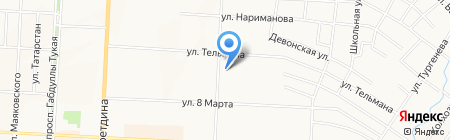 Ручеек на карте Альметьевска