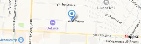 Аптека Столетник на карте Альметьевска