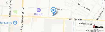 Окна Евростиль на карте Альметьевска