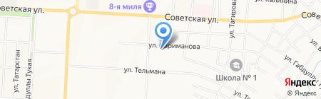 Дива на карте Альметьевска