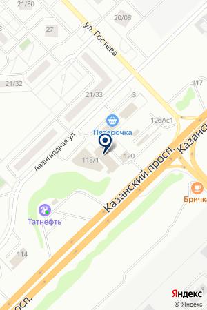 ТФ ГРЕЦИЯ на карте Набережных Челнов