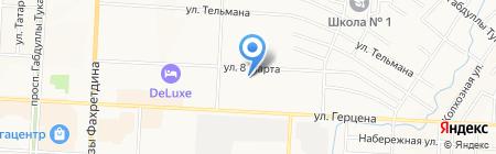 Комфорт на карте Альметьевска