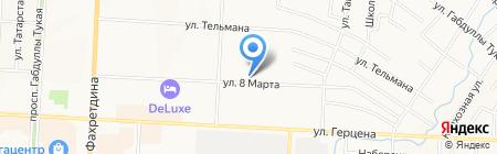 Адвокатский кабинет Меньшикова А.Д. на карте Альметьевска
